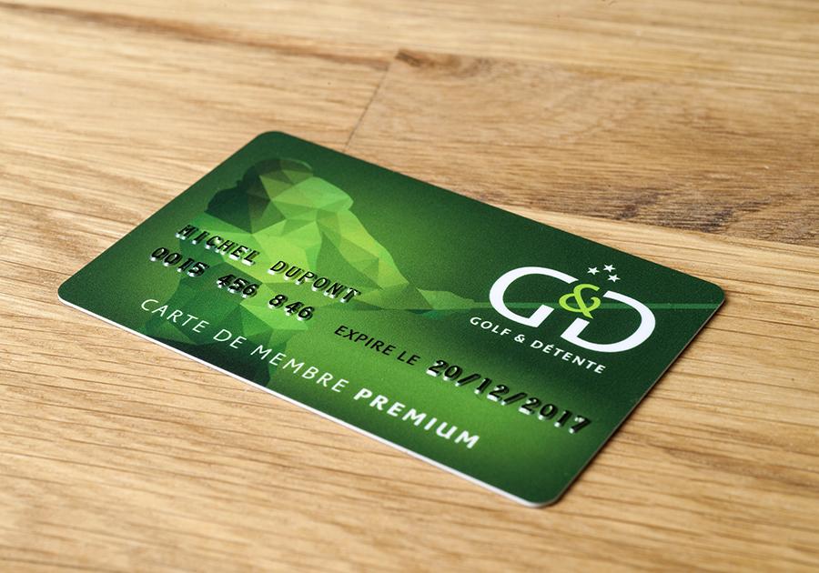 Carte PVC
