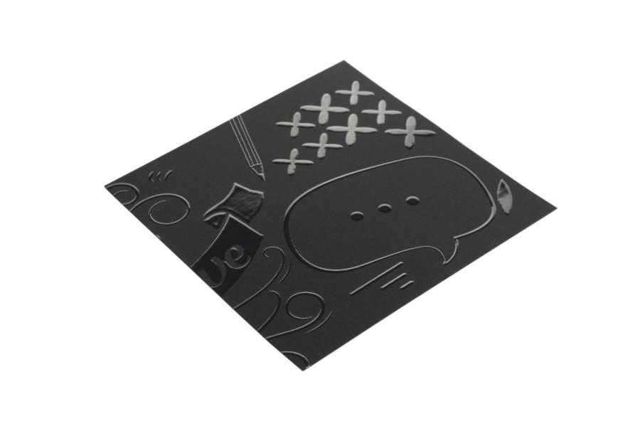 Vernis Sélectif 3D Sans Impression
