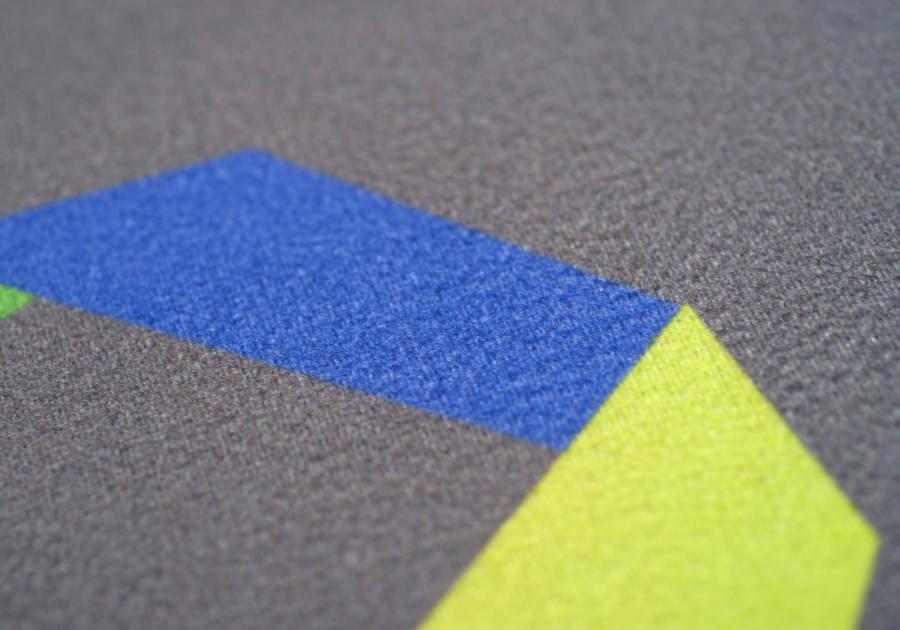 Polyester tricoté bordure caoutchouc 20